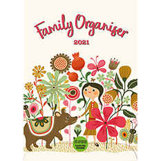 Animals Family Organiser 2021 Calendar