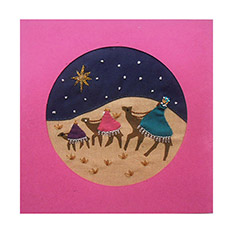 3 Kings - Fairtrade Christmas Card