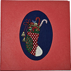 Christmas Stocking - Fairtrade Christmas Card