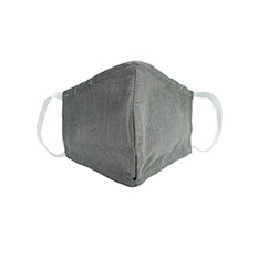 Grey Face Mask Large