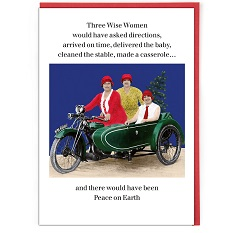 Cath Tate Single Christmas Card - Three Wise Women