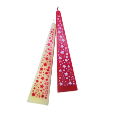 Pyramid Advent Candle Ivory