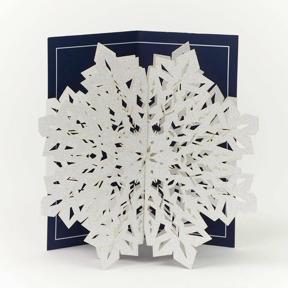 Luxury Snowflake Cards 5 Pack Oxfam Gb Oxfams Online Shop