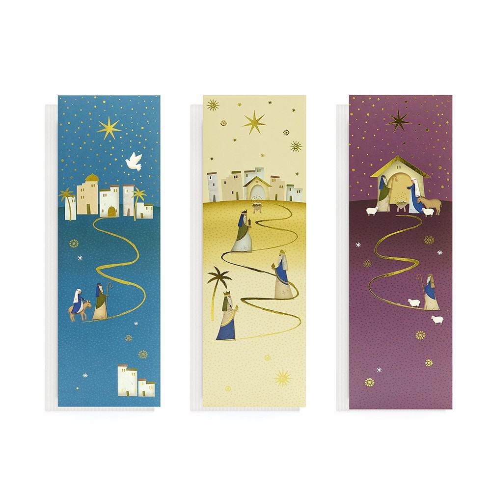 Value Religious Slim Christmas Cards (20 Pack)