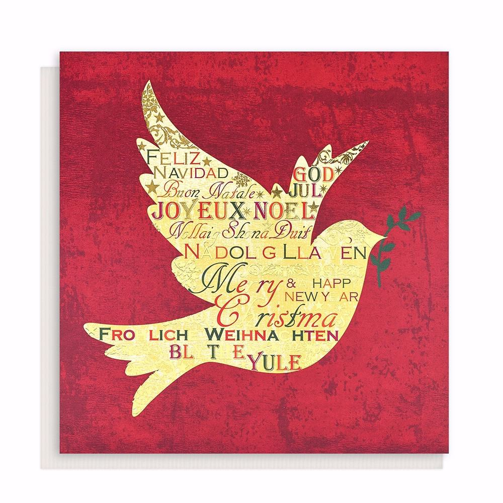 Welsh large dove of greetings christmas card 10 pack oxfam gb welsh large dove of greetings christmas card 10 pack loading zoom kristyandbryce Image collections