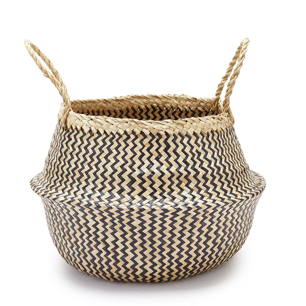 Zigzag Basket