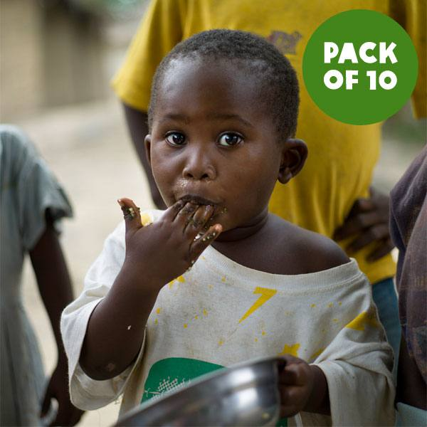 Feed a family - pack of 10