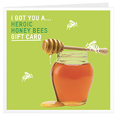 Heroic honey bees