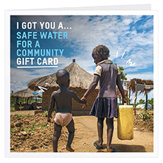Safe water for a community