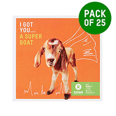 Goat - pack of 25