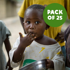 Feed a family - pack of 25
