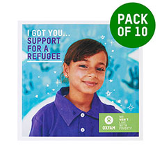 Support a refugee - pack of 10