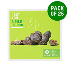 Pile of poo - pack of 25
