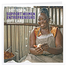 Support women entrepreneurs