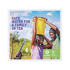 Safe water for 50 people
